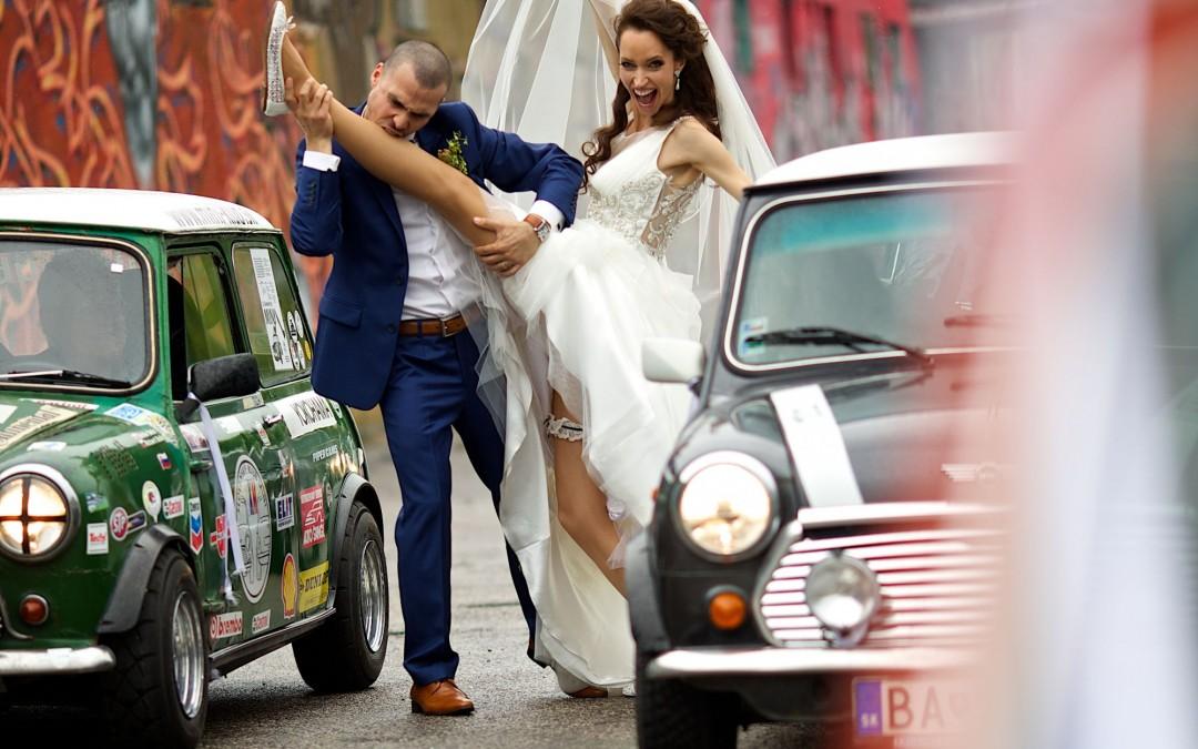 Monika a Mišo – krásna svadba v Starom Meste