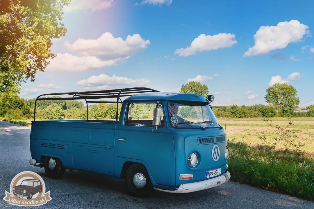 VW Transporter na svadbu