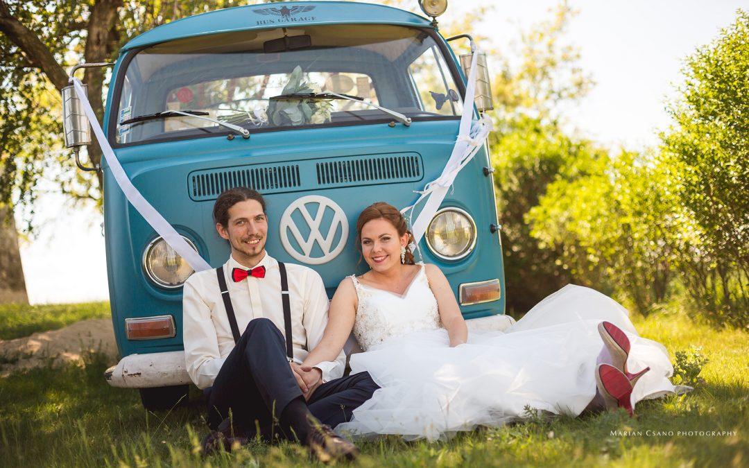 Svadba s VW Transporterom